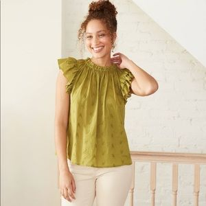 Women's Floral Embroidered Blouse